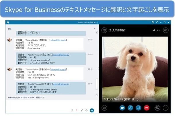 Skype for Businessエディション